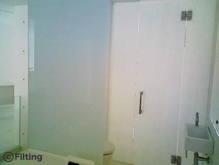 浴室間仕切り:ミルキーミルキー